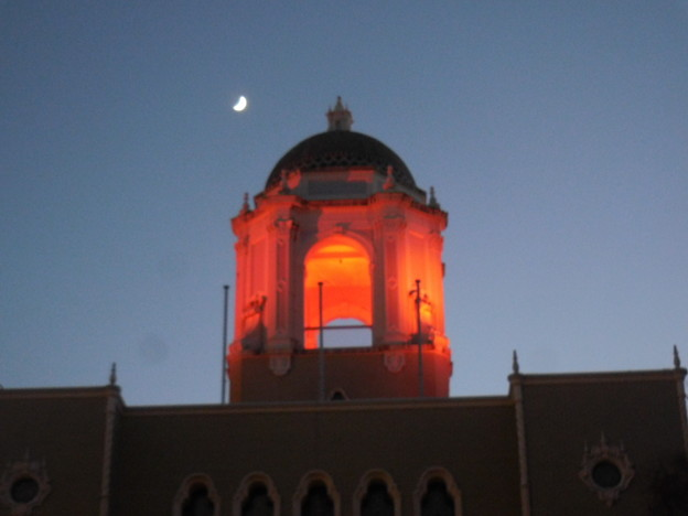 赤いドーム