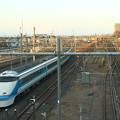 Photos: 栗橋駅連絡線を渡る 東武鉄道108編成