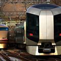 Photos: 5128M列車充当車両と1117列車