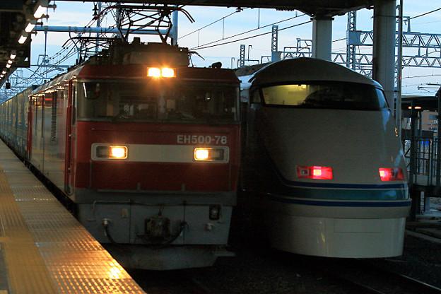 EH 500 と 108編成