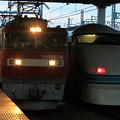 Photos: EH 500 と 108編成