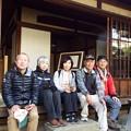 074 旧島崎藤村邸にて(2)