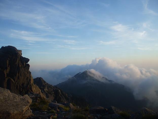 1-116 天狗岩と三ノ沢岳 1