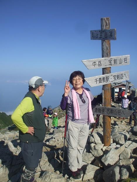 2-085 駒ヶ岳山頂にて
