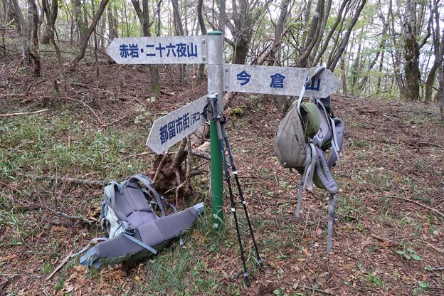 032 西ヶ原分岐道標