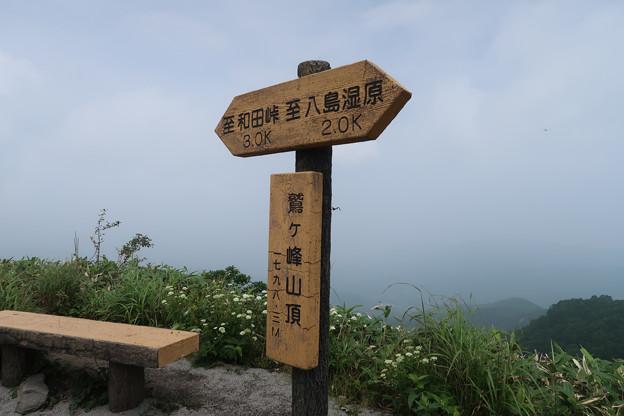 056 山頂標識