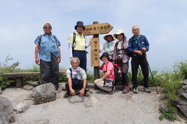 057 山頂にて(1)
