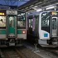 写真: 701系×HB-H210系