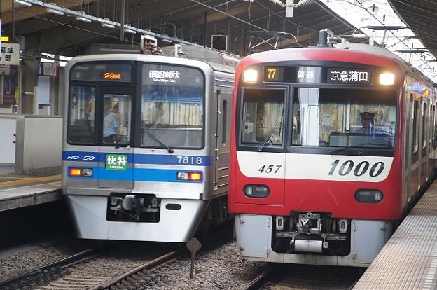 写真: 7800系×1000系