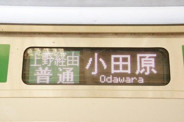 上野経由普通 小田原