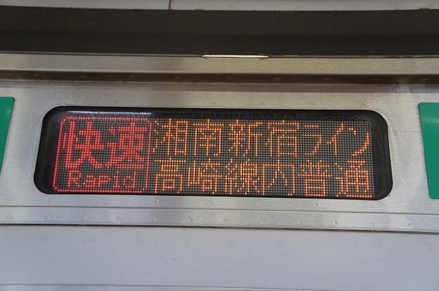 快速 湘南新宿ライン高崎線内普通
