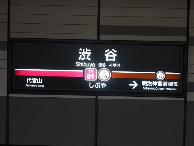 F16 TY01 渋谷