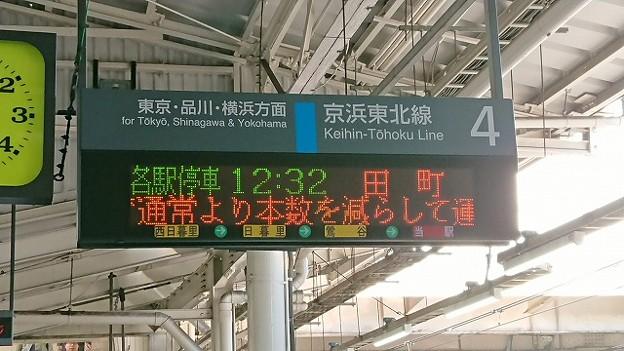 上野駅4番線発車案内