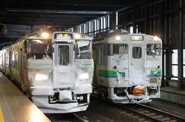 733系×キハ40形400番台