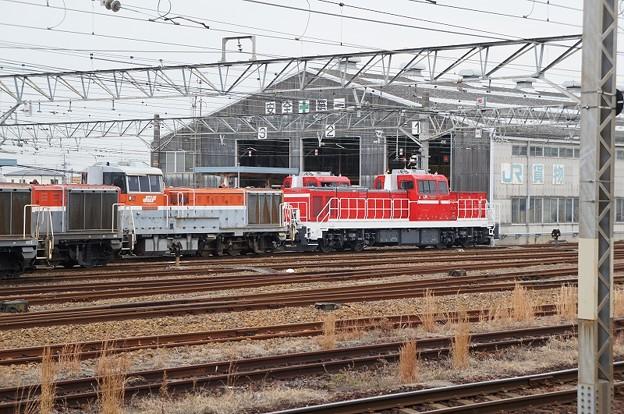 愛知機関区 機関車