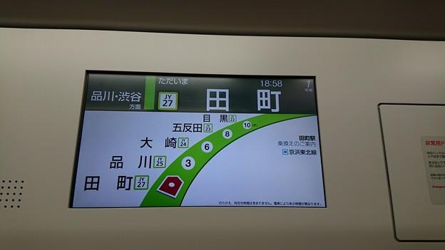 山手線案内LCD
