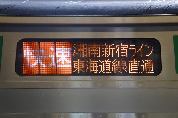 快速 湘南新宿ライン東海道線直通