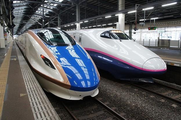 E7系×E2系