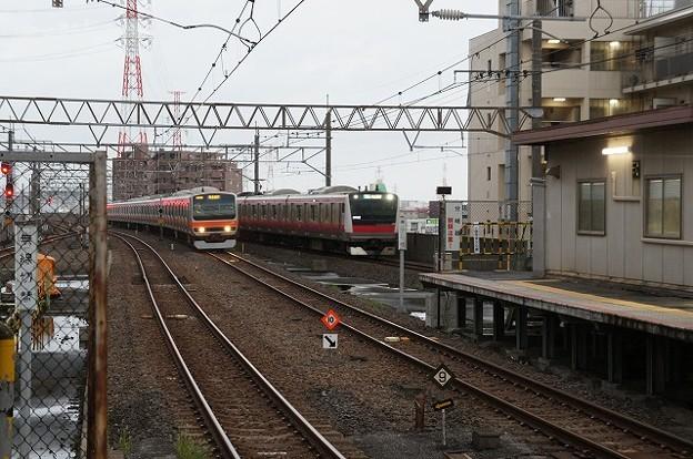 E231系×E233系