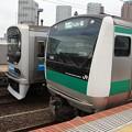 Photos: E233系7000番台×70-000形
