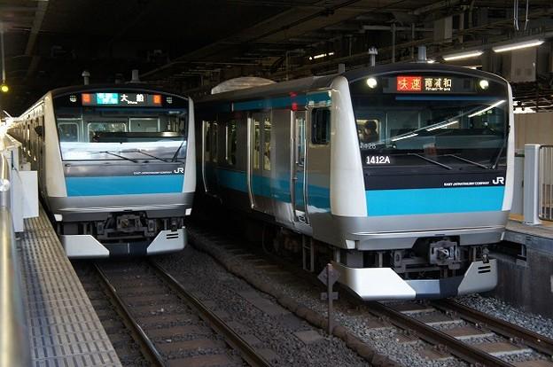E233系1000番台×E233系1000番台