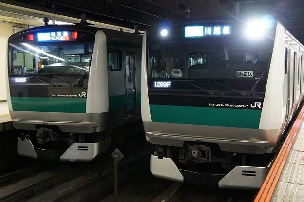 Photos: E233系7000番台×E233系7000番台