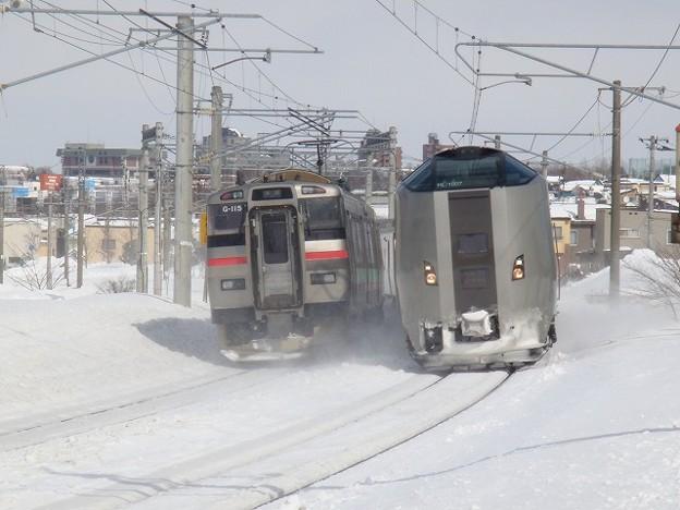789系1000番台×731系