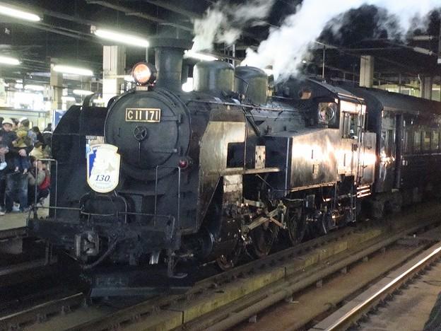 C11-171 SL北海道鉄道130周年記念号
