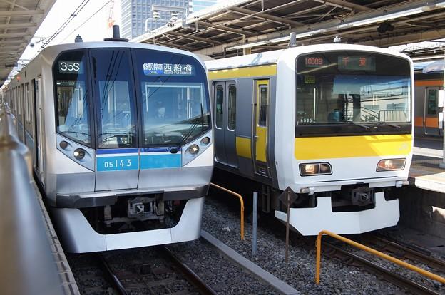 05系×E231系500番台