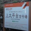 Photos: 上大平台信号場