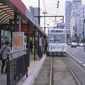 Photos: 002542_20180407_岡山電気軌道_岡山駅前