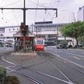 Photos: 002549_20180407_岡山電気軌道_岡山駅前