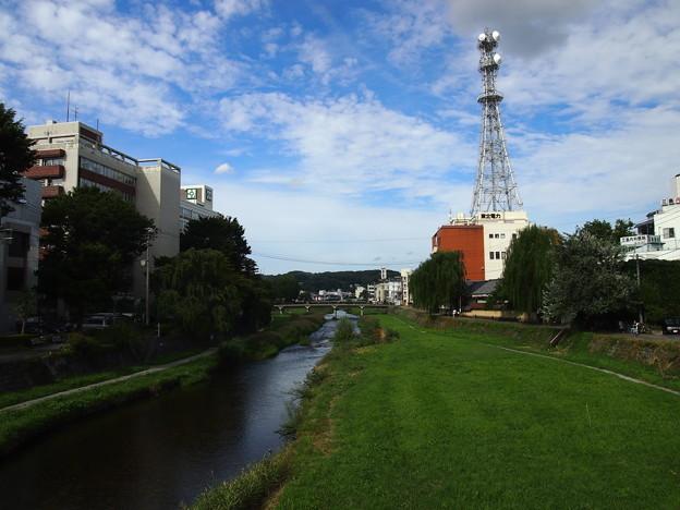 盛岡市を流れる中津川