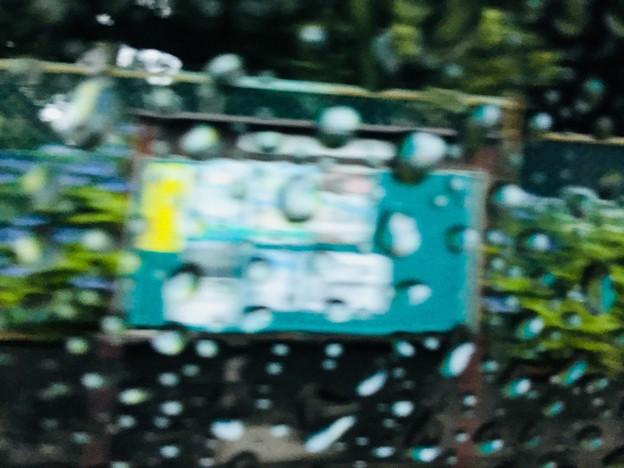 雨降り車窓2