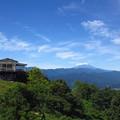 茶屋&富士山