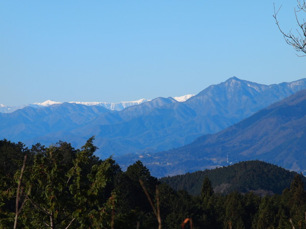 Photos: 南アルプス遠望