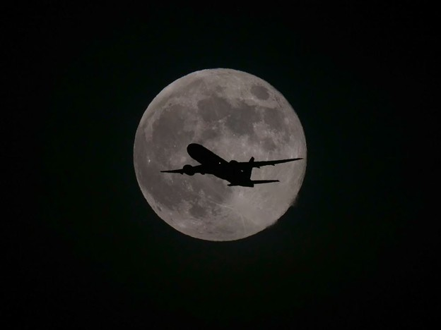 Photos: 満月の夜6月・・・