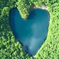 Photos: ハートの湖♪