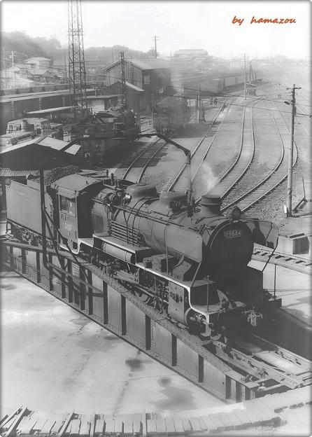 北九州炭鉱のSL
