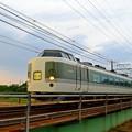 抹茶色の電車