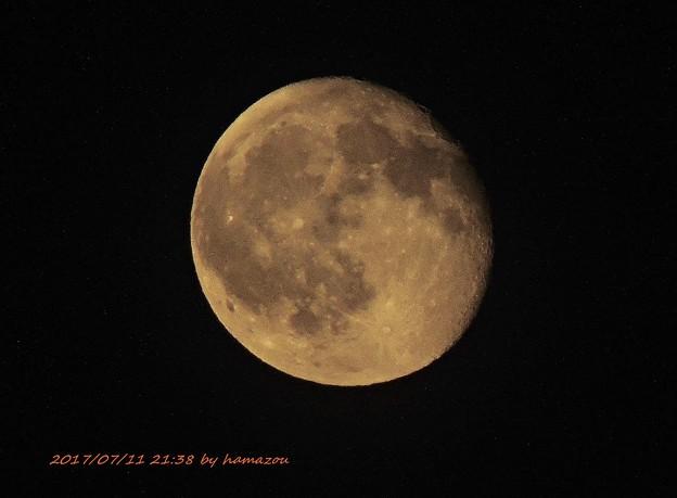 今宵の月(170711)