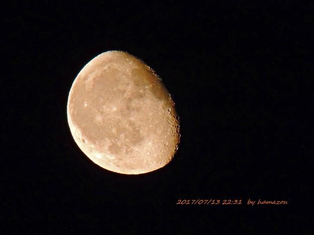 今宵の月(170713)