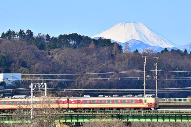 Photos: 富士とマラソン号