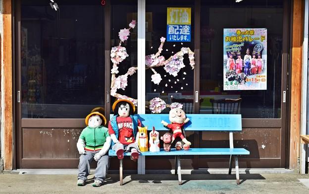 街道沿いの商店