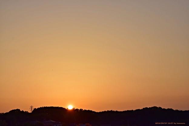 Photos: 夕陽(180429)