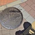 写真: マンホールの蓋