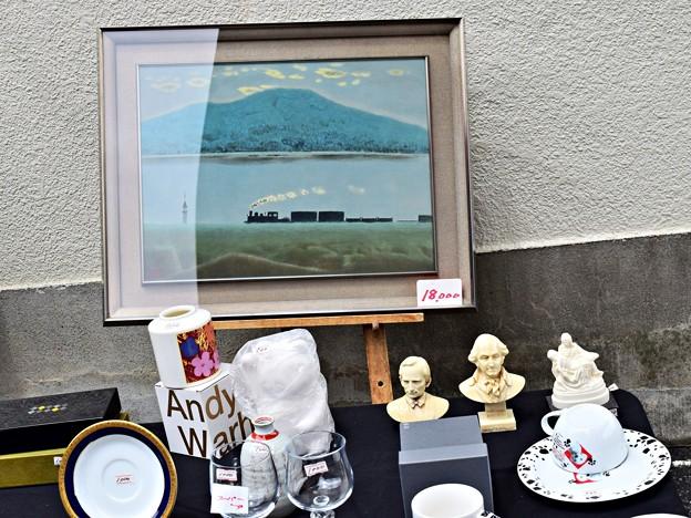 Photos: 絵画の貨物列車