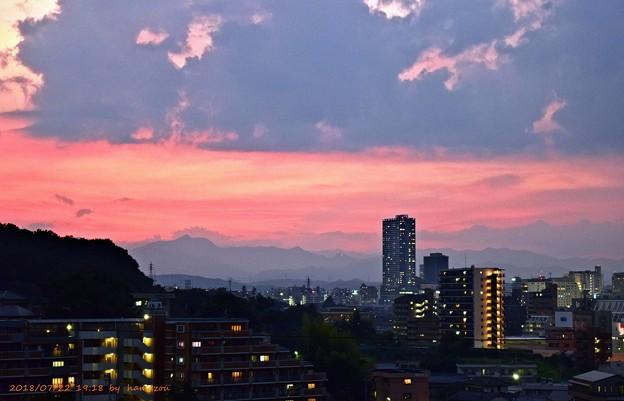 Photos: 夕焼け(180722)