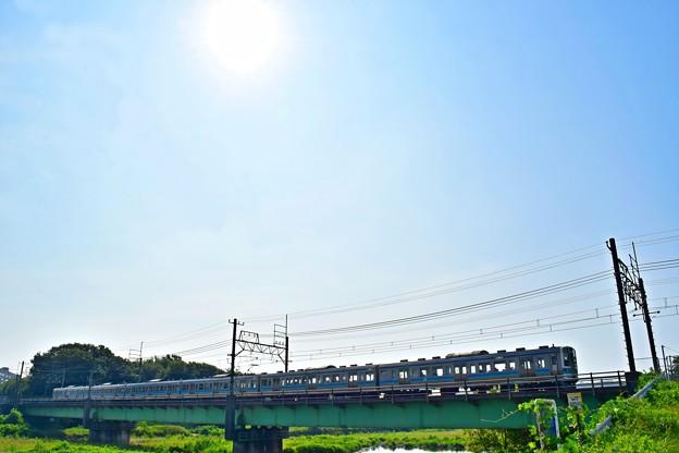 Photos: 猛暑続きの河川敷