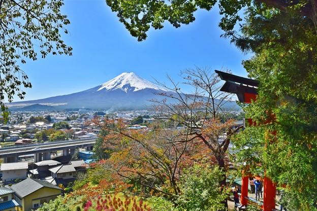 写真: 秋香る富士(1)